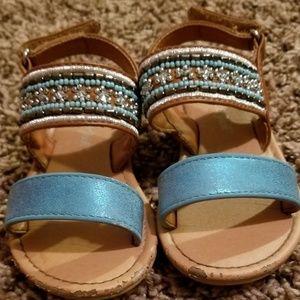 Toddler Girl Sandals (Size 7)